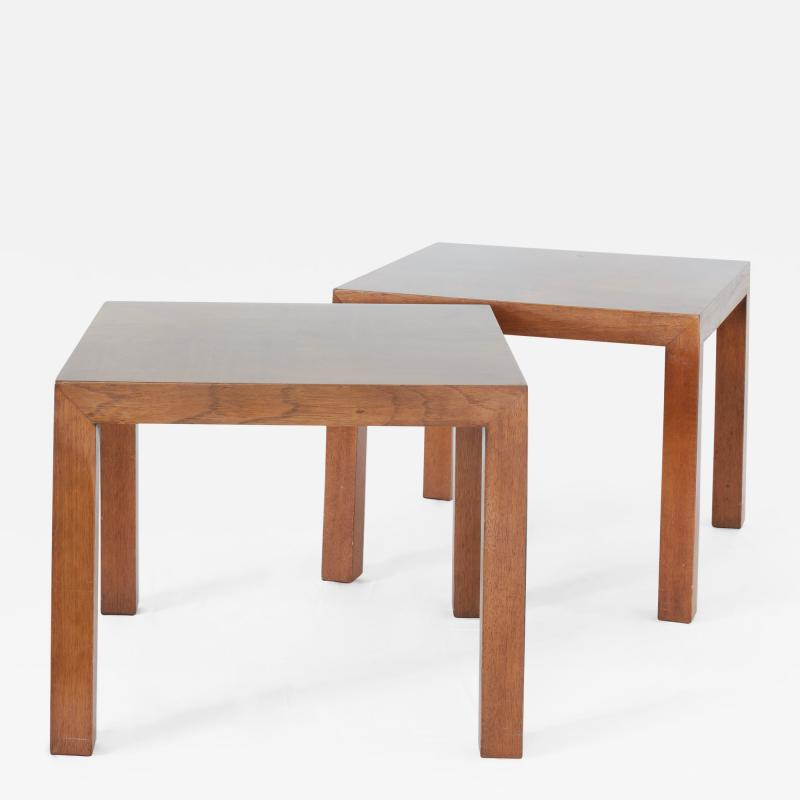 Lane Furniture Lane Furniture Set of Parsons Style Side Tables