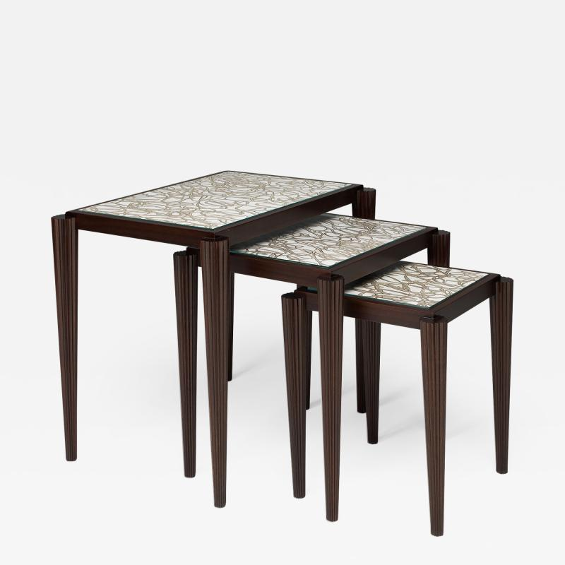 Lang Hall Arachne Nesting Tables