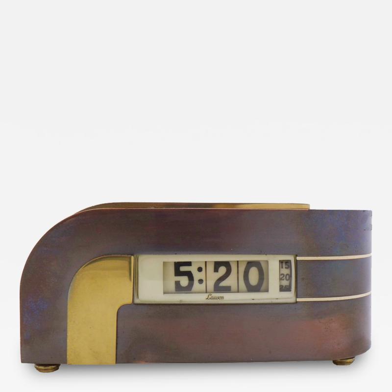Lawson Time Inc Original Zephyr Clock by Lawson Clock Company