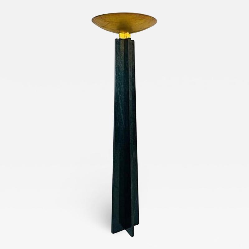 Lella Massimo Vignelli 1980s Marble Floor Lamp Wagneriana