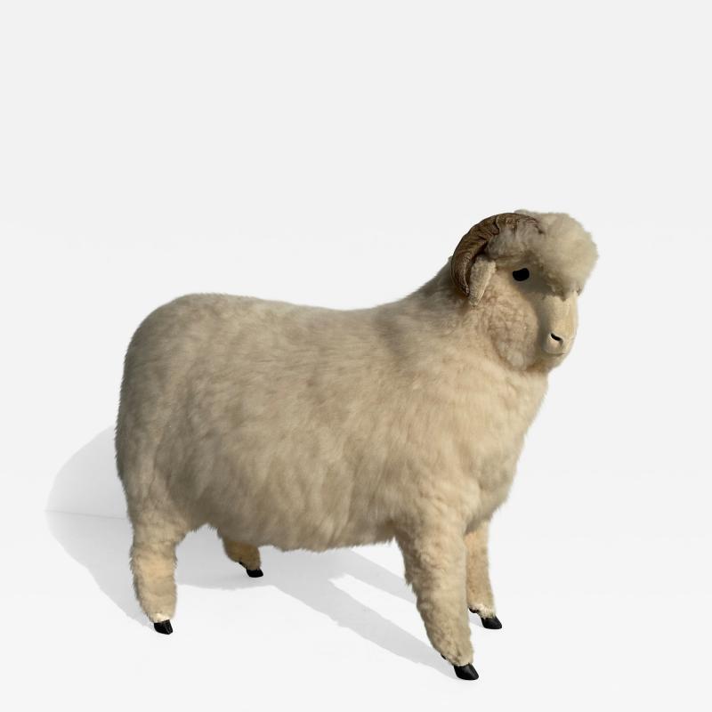 Les Lalanne Sheep Sculpture Footrest