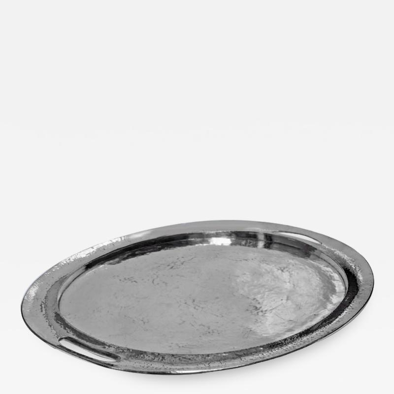 Liberty Co Large Liberty and Co Polished Pewter Tray circa 1900