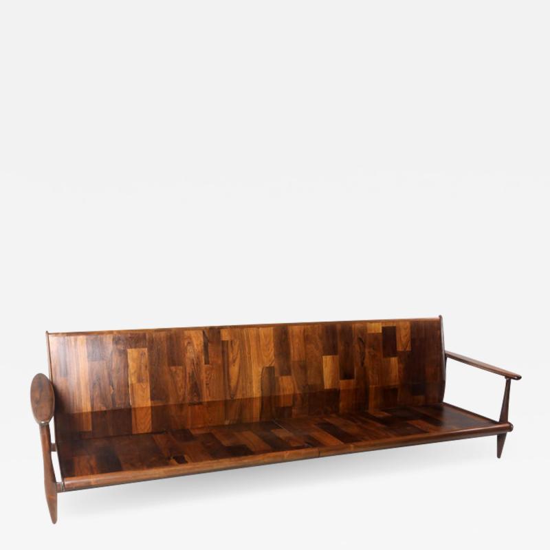 Liceu de Artes e Of cios Mid Century Modern Sofa by Liceu de Artes e Of cios Manufacture Brazil 1960s
