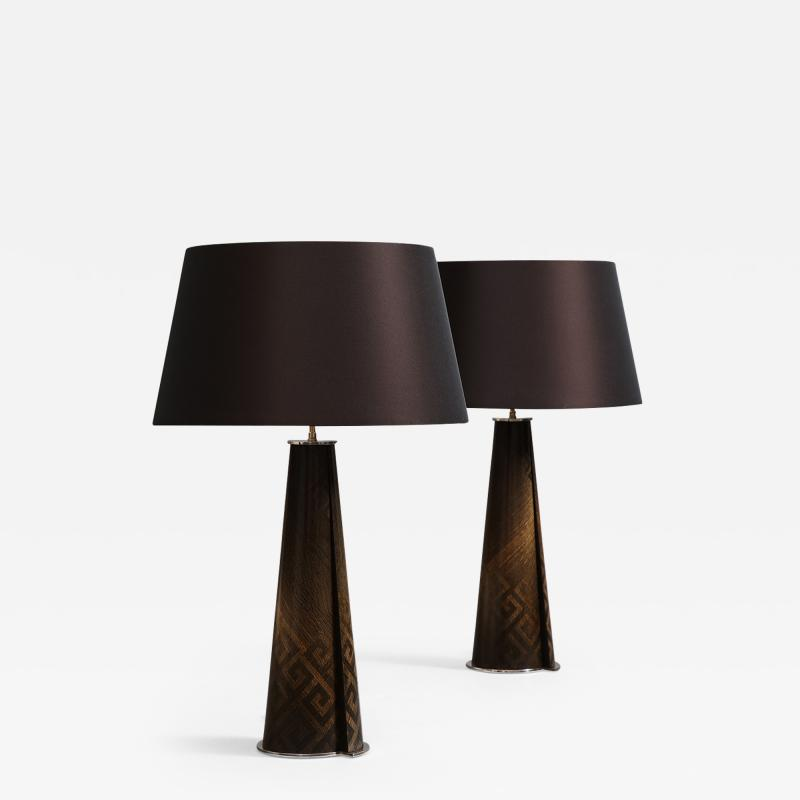 Ludwig Dominique Pair of Table Lamps