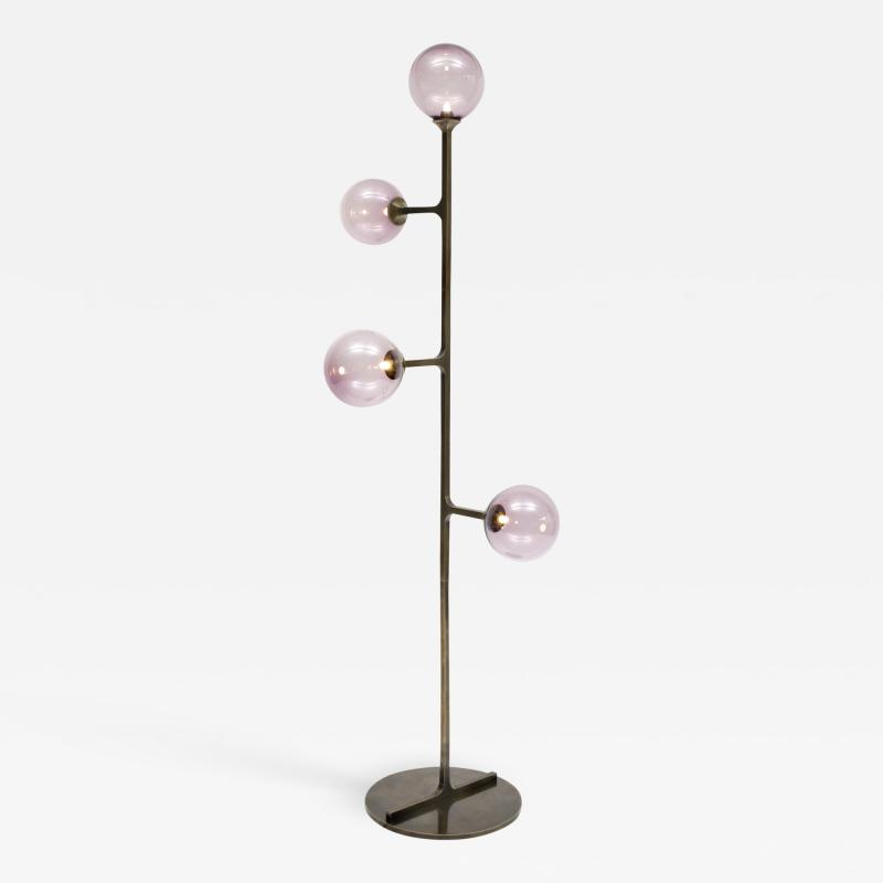 Lumifer by Javier Robles Helix Floor Lamp