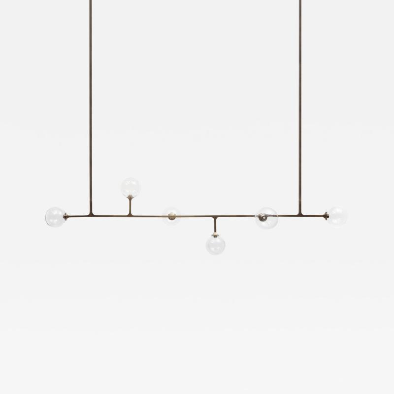 Lumifer by Javier Robles Helix Horizontal Ceiling Pendant