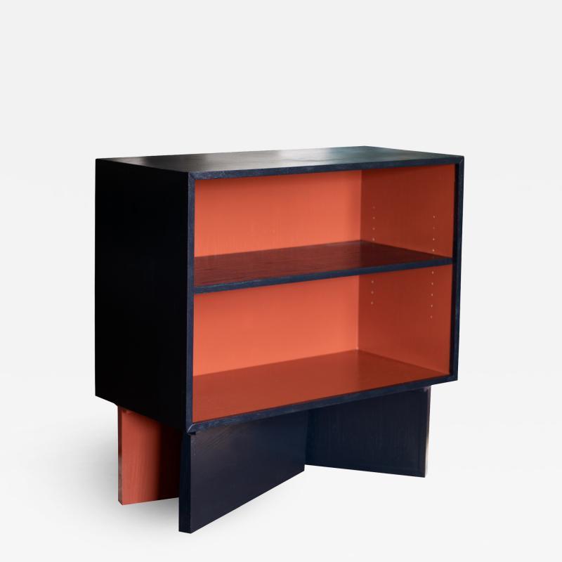 MAWLANA Furniture Home Tegmark Enamelled Oak Cabinet