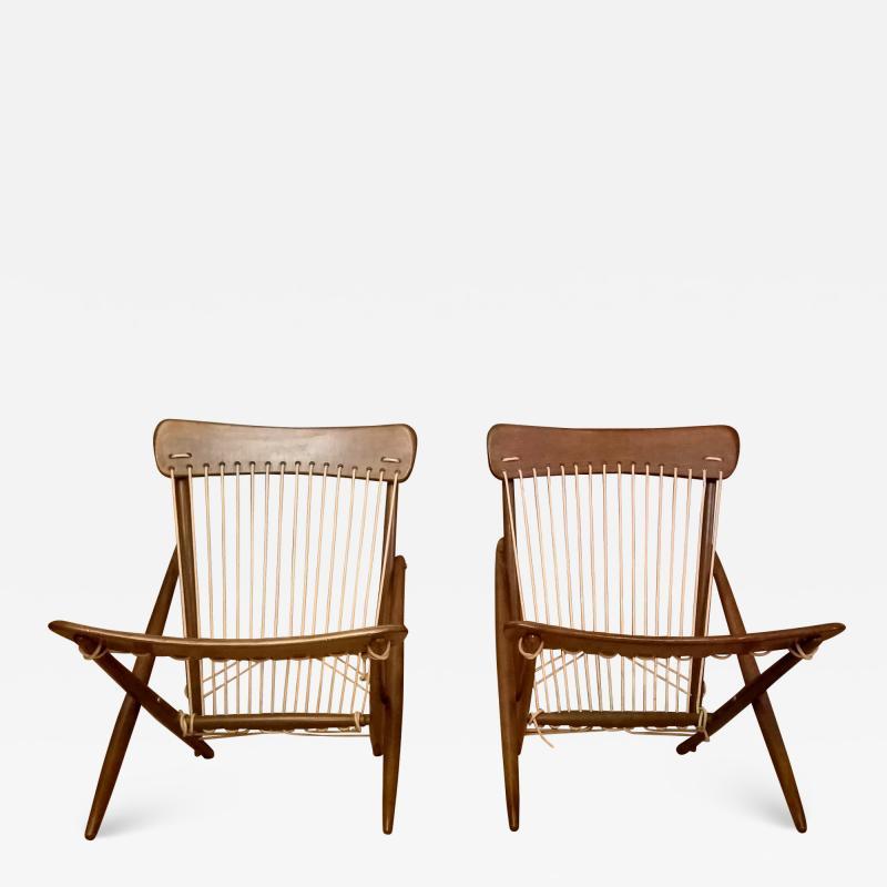 Maruni Studio Maruni Style Lounge Chairs Japan 1960s