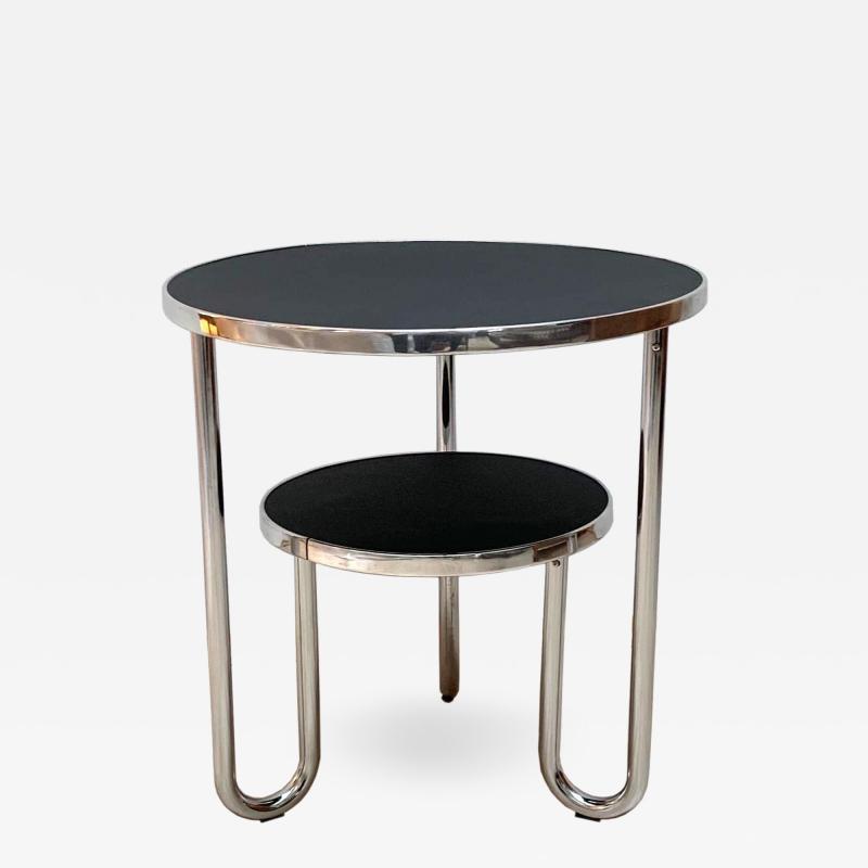 Mauser Werke Bauhaus Steeltube Side Table Germany circa 1930 1940