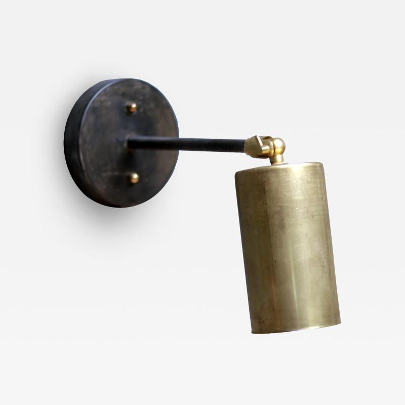 Mawlana Furniture Home Theia Brass and Etched Metal Sconce