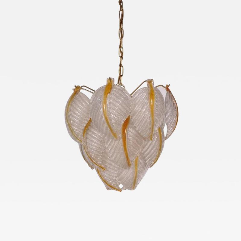 Mazzega Murano 1960s Murano Glass Ceiling Lamp by Mazzega Italy