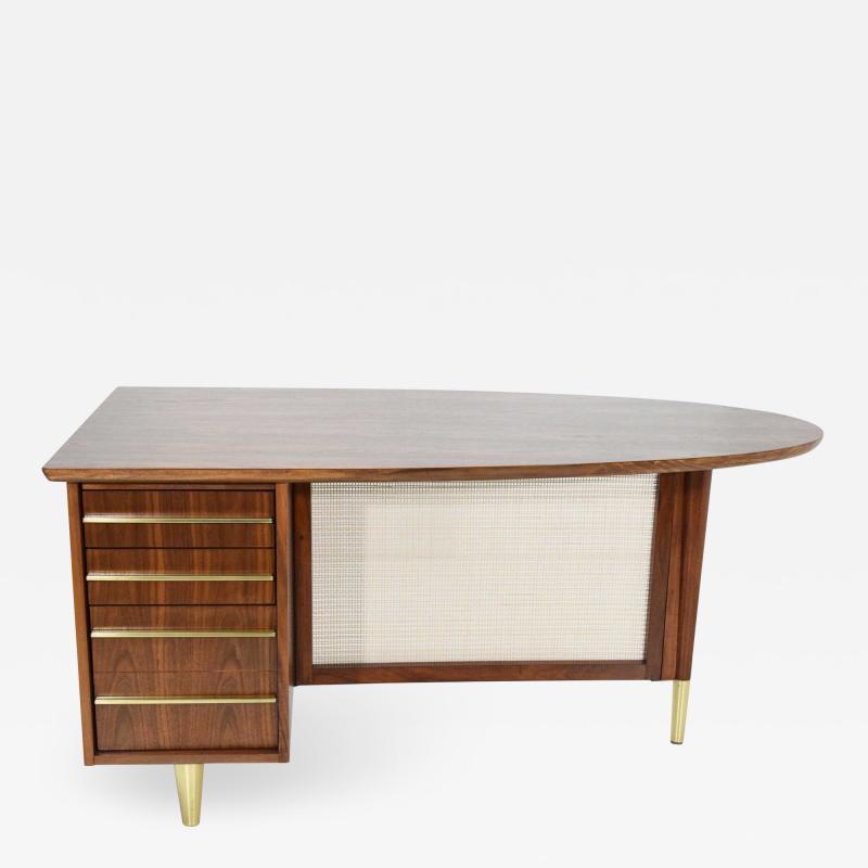 Miller Desk Safe Co Rosewood Midcentury Desk by Miller Desk Safe Company 1930s