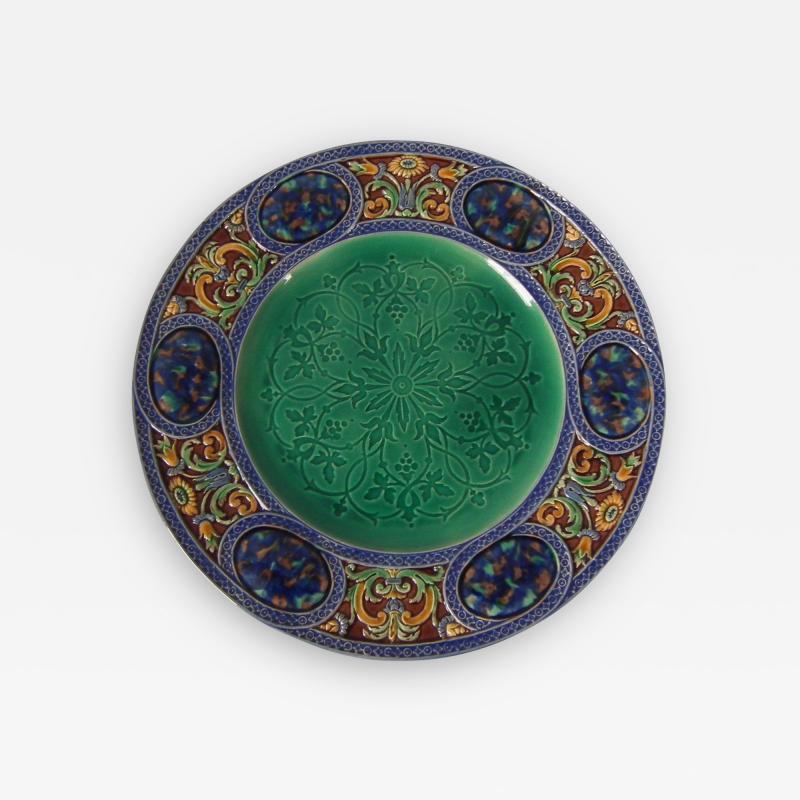 Minton Minton Majolica Palissy Ware Plate
