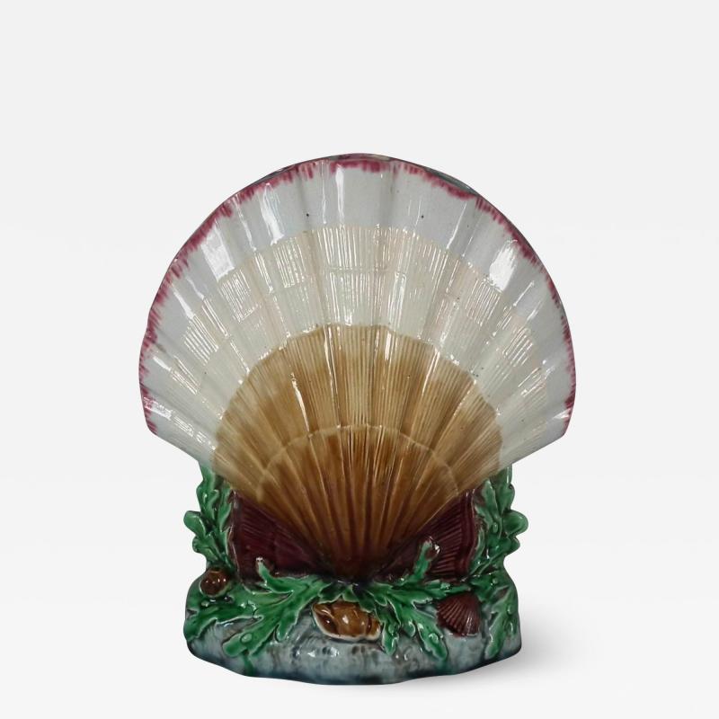 Minton Minton Majolica Shell Flower Holder