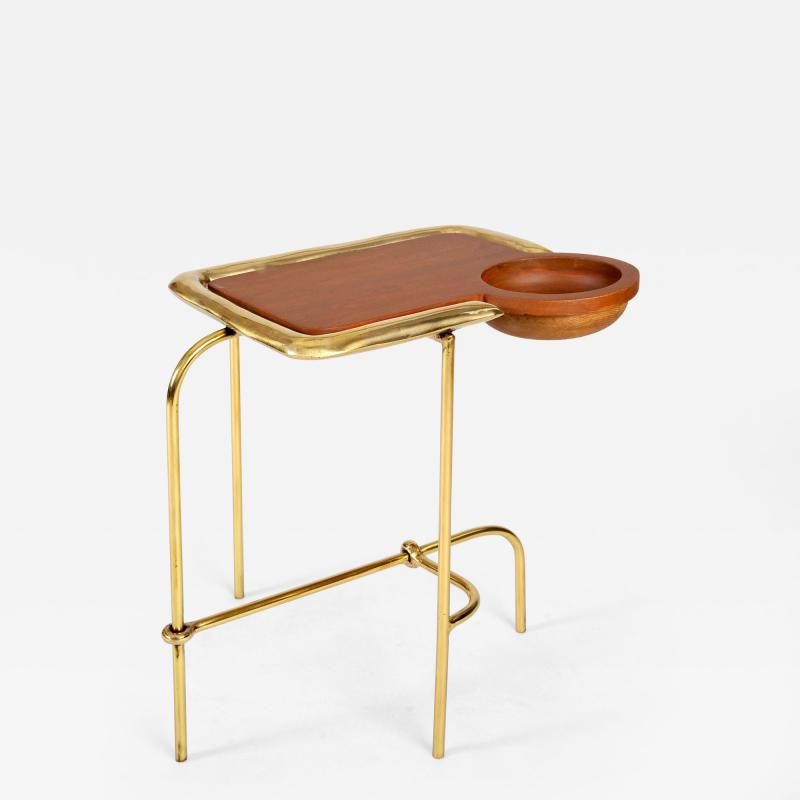 Misaya Brass Side Table Compound I Misaya