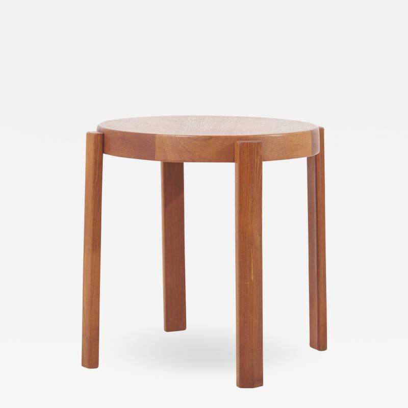 Mobelfabrikken Toften Scandinavian Modern Danish Teak Side Table by Mobelfabrikken Toften 1950s