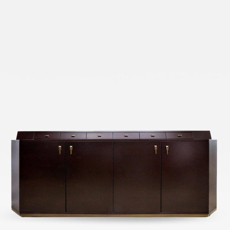 Mobilidea Dark Palisander Gran Central Sideboard by Studio Tecnico for Medea Mobilidea