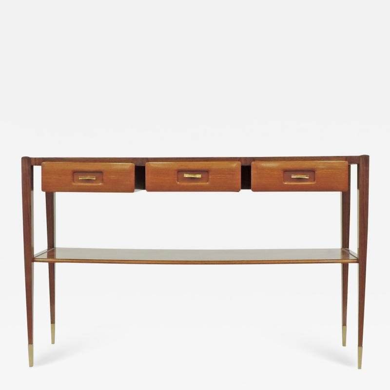 Mobilificio Dassi Dassi console with three drawers Italy 1950s