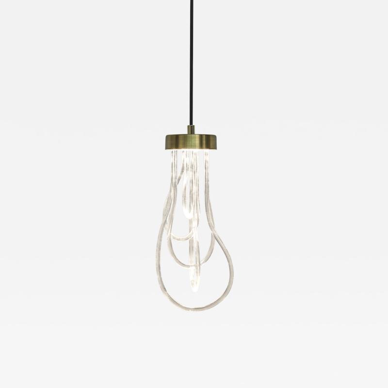 Morghen Studio Brass Light Pendant Cascade