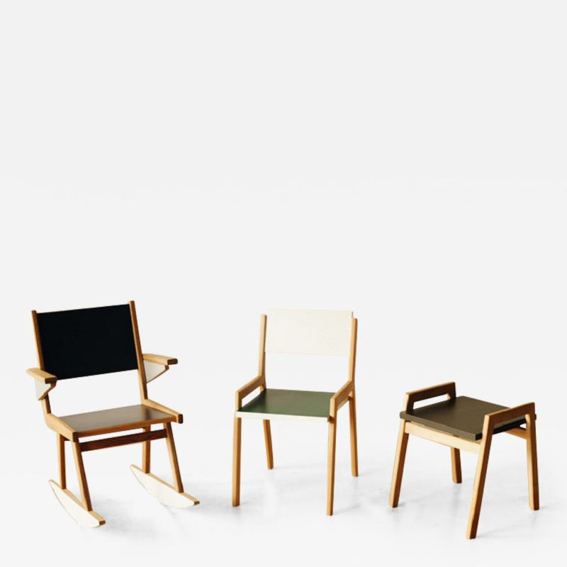 OWL Furniture Stool chair rocker