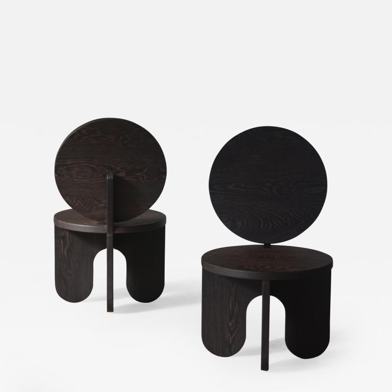 OWL Furniture Wengue Lounge Chairs