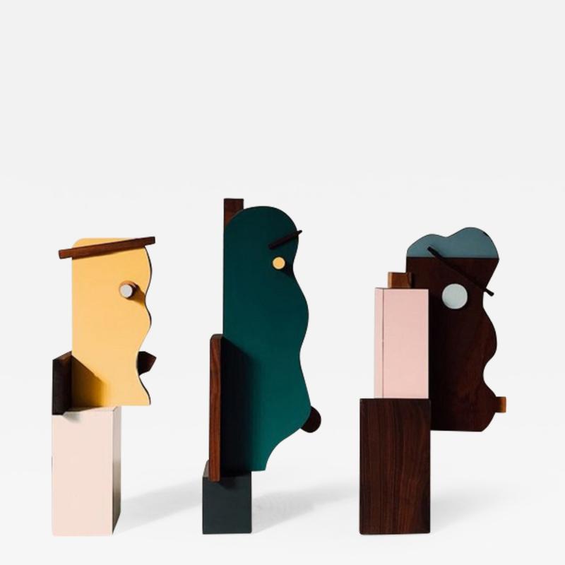 OWL Furniture face sculptures