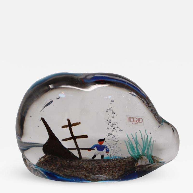 Oball Shipwreck Aquarium
