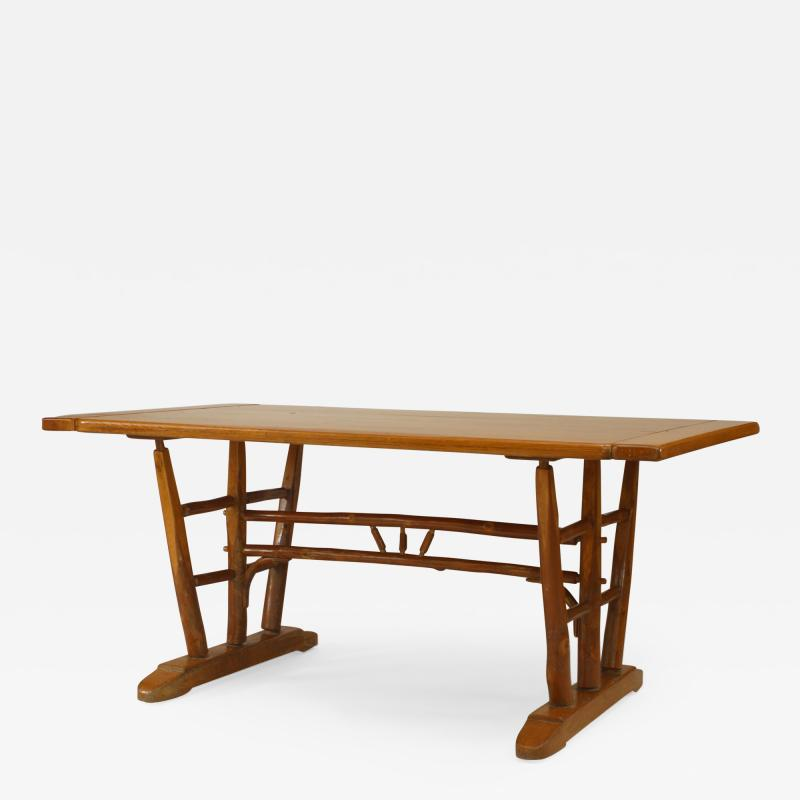 Old Hickory Furniture Co Rustic Old Hickory Dining Table