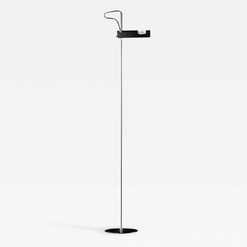 Oluce Joe Colombo Model 3319 Spider Floor Lamp in Black for Oluce