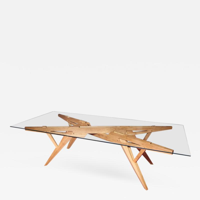 Opere e i Giorni Studio Architectural Dining Table by Studio LOpere ei Giorni