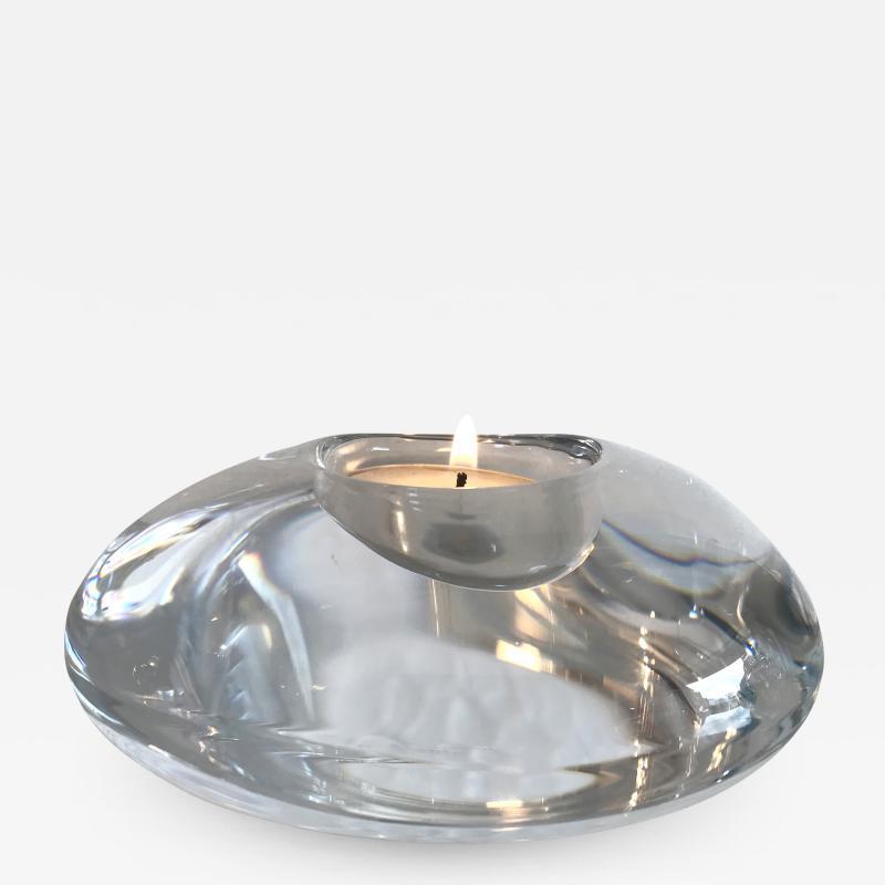 Orrefors Orrefors glass tea light holder