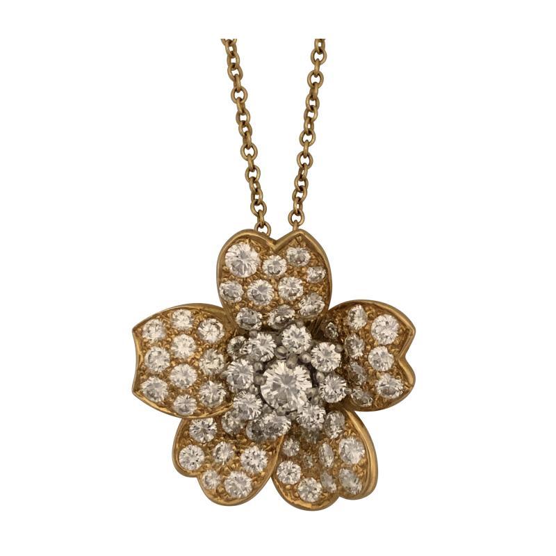 Oscar Heyman Brothers Oscar Heyman diamond pendant