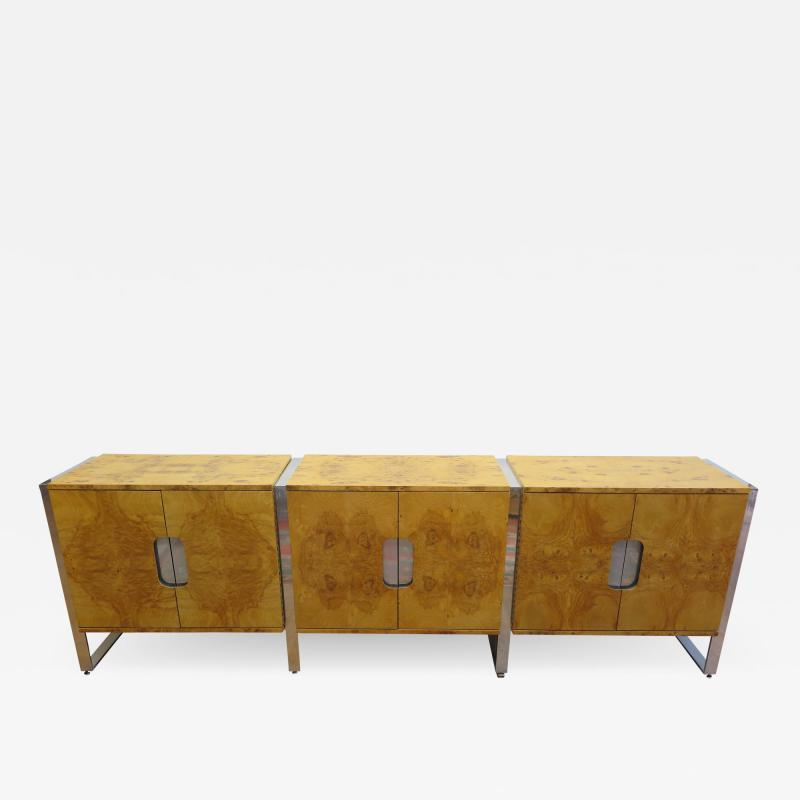 Pace Collection Pace Collection Burl Wood Sideboard
