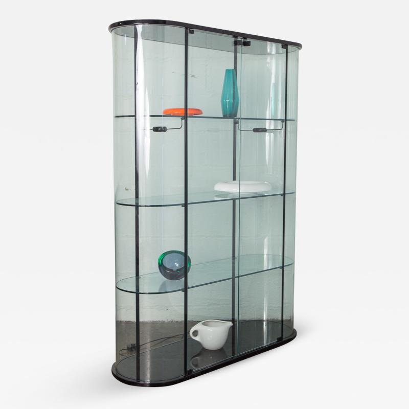 Pace Collection Pace Collection Tall Rounded Glass Vitrine