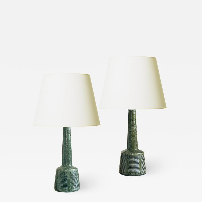 Palshus Near Pair of Architectonic Lamps by Palshus for LeKlint