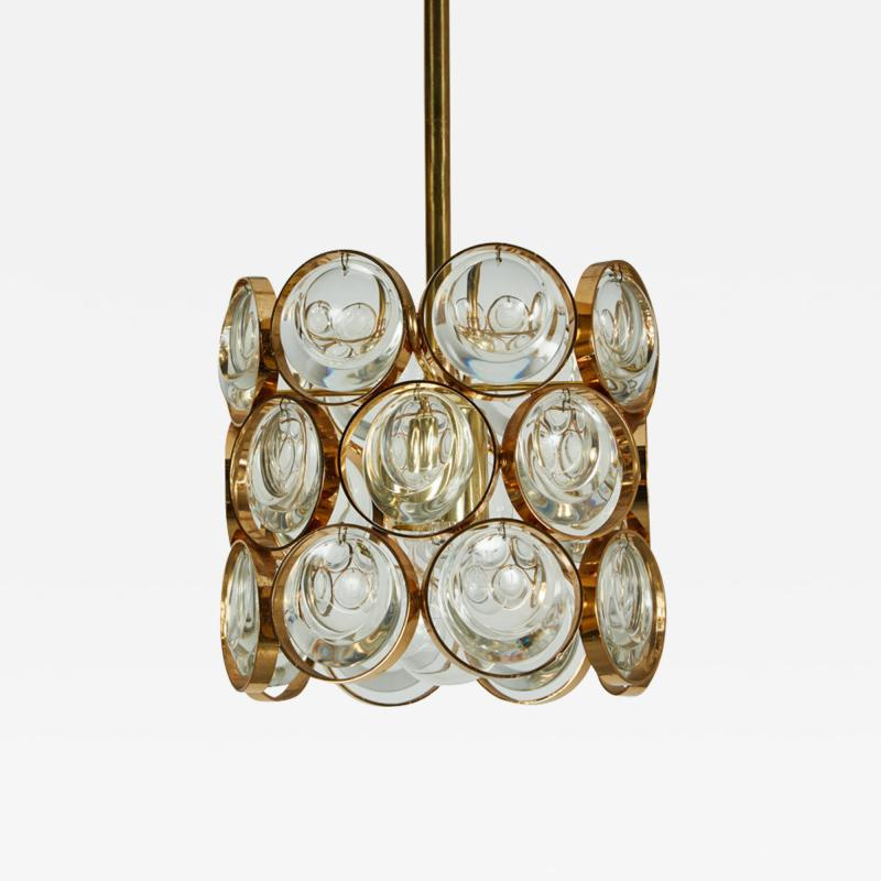 Palwa Small Scallop Glass Pendants by Palwa