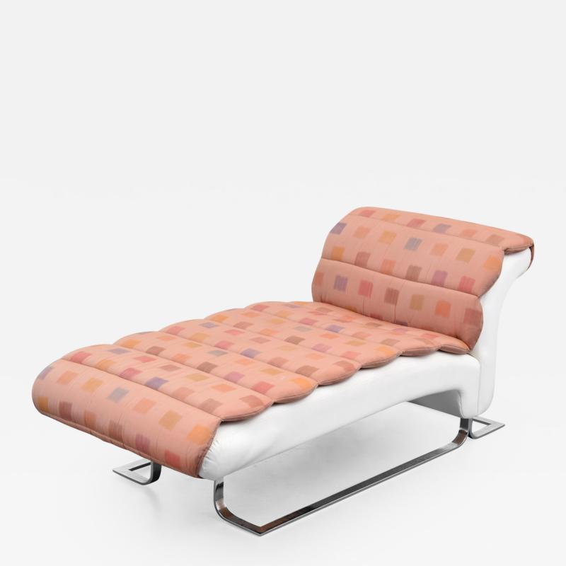 Parzinger Originals Custom Tommi Parzinger Chaise Lounge Chair