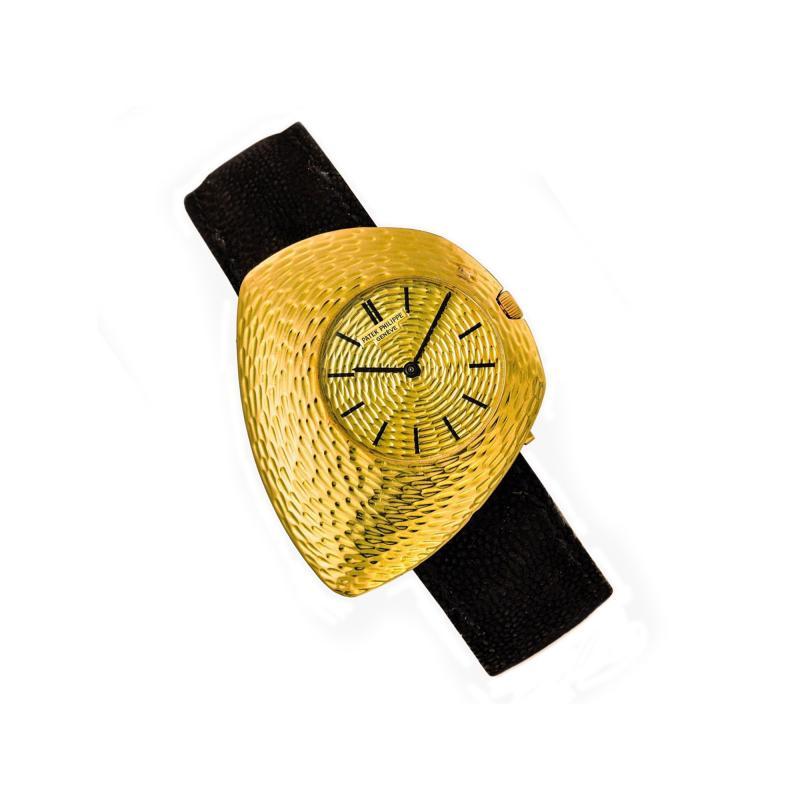 Patek Philippe Co 1960s Gilbert Albert Prototype Asymmeterical Wristwatch