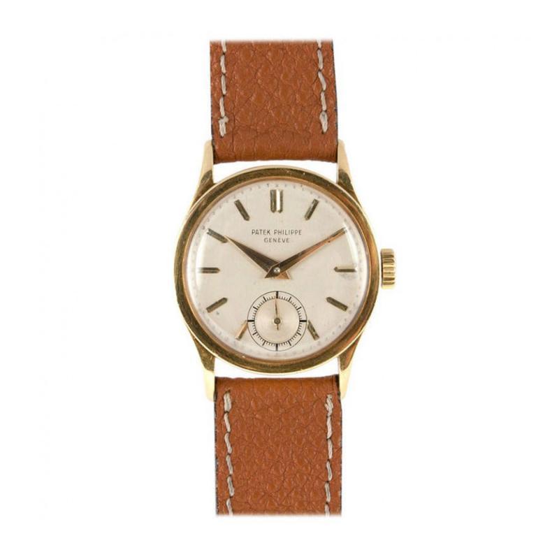 Patek Philippe Co Patek Philippe Yellow Gold Calatrava Wristwatch Ref 96 Circa 1940