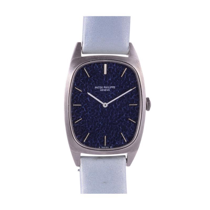 Patek Philippe Co Rare Patek Philippe 18 Karat White Gold Ladies Wrist Watch