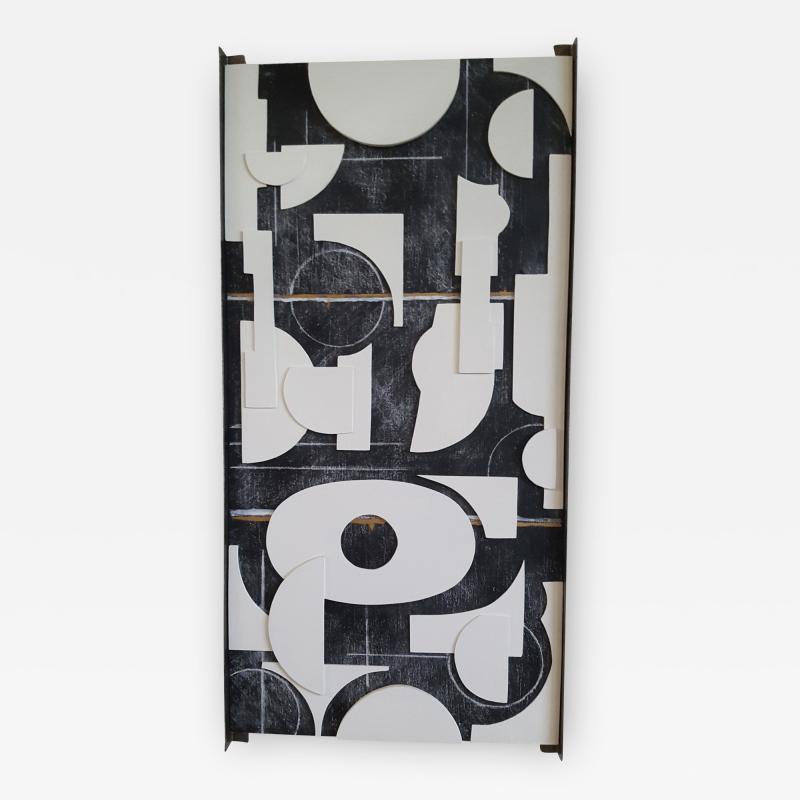 Paul Marra Design Art Panel Modernist Frieze