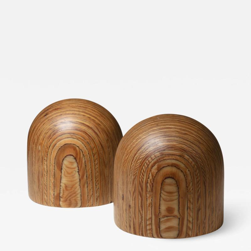 Pedano Pair of Bookends by Pino Pedano