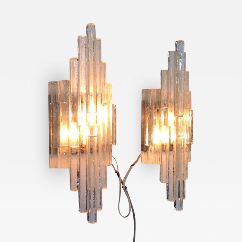Poliarte Large 1970s Poliarte Wall Lights