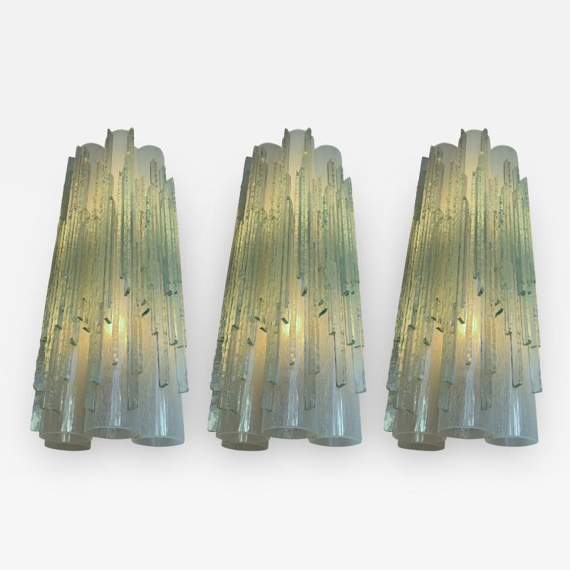 Poliarte Sconces Globula Glass by Poliarte Italy 1970s