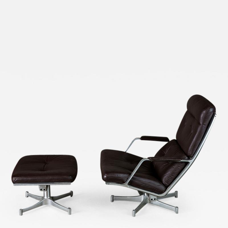 Preben Fabricius and Jorgen Kastholm Fabricius Kastholm Lounge Chair