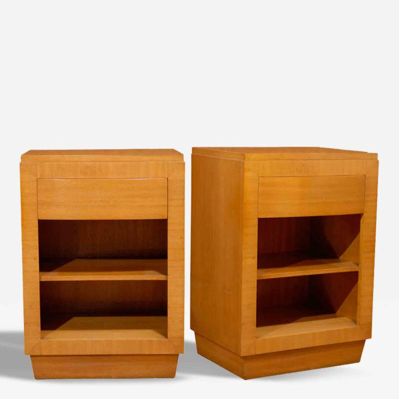 R way furniture company pair of modern end tables night for Modern furniture companies