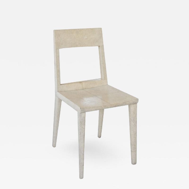 R Y Augousti R Y Augousti Shagreen Chair