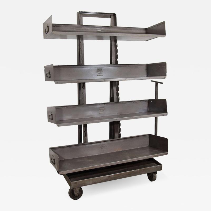 RACK Engineering RACK Engineering Industrial Bookcase with Wheels