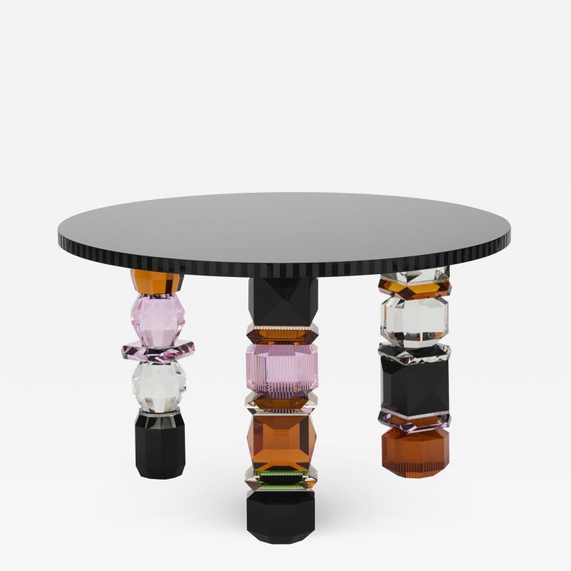 Reflections Copenhagen Orlando Contemporary Crystal Table