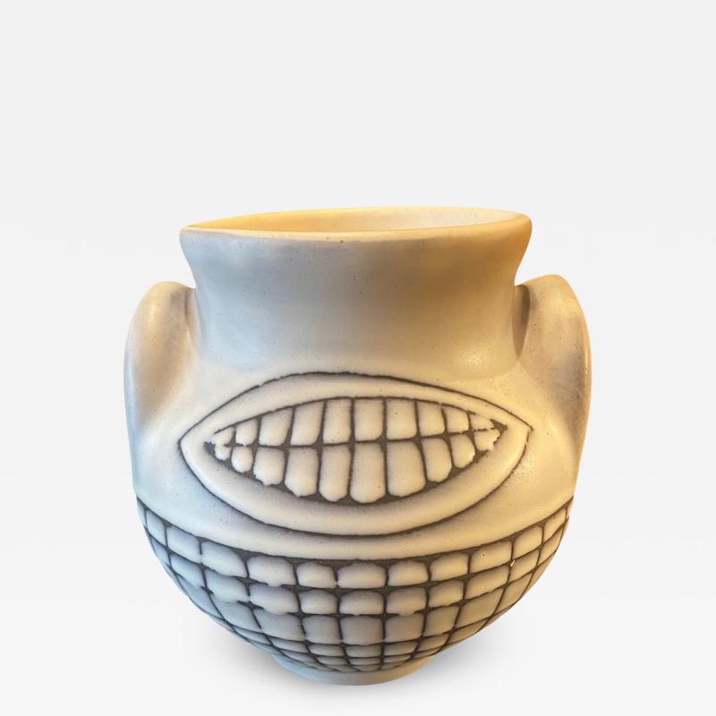 Roger Capron Ceramic Vase Vallauris France 1950s